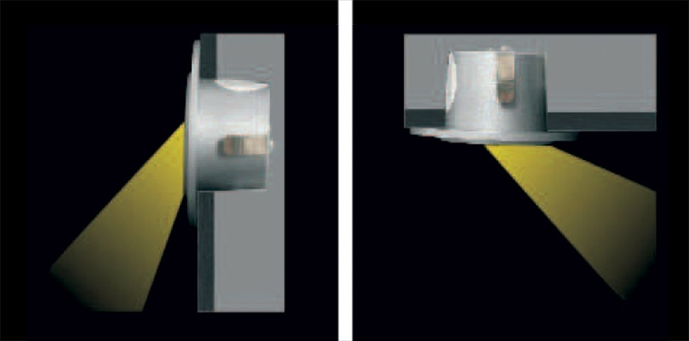 RECESSED ASYMMETRICAL WALL LED LIGHT