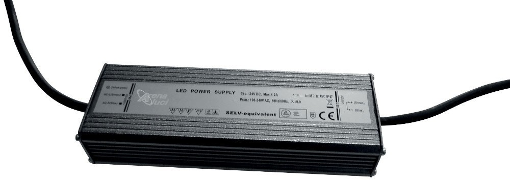 IP67 POWER SUPPLY 24V - 100W