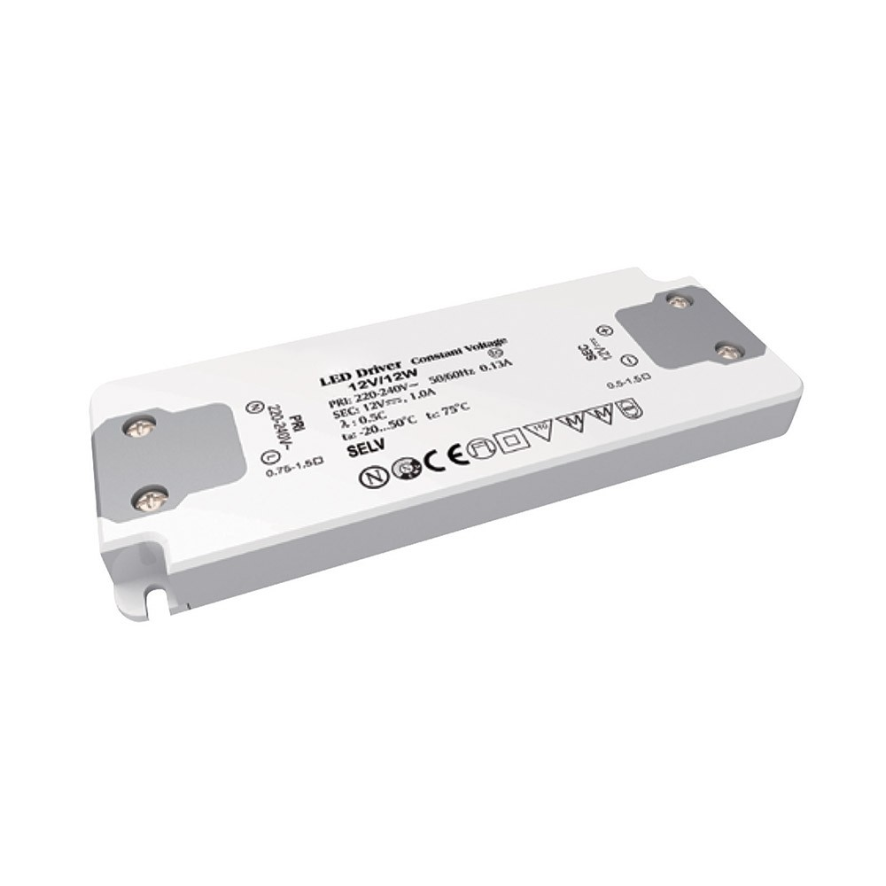 SWITCHING POWER SUPPLY INSULATION CLASS II 12V - IP20
