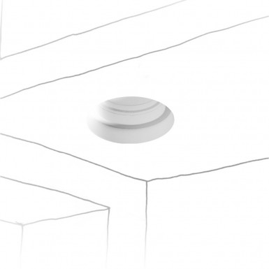 RECESSED CEILING LIGHT 1xMR16 Round
